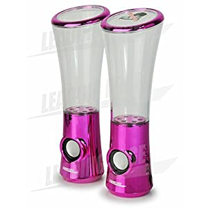 Water Dancing Speaker X3 Chrome Pink