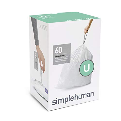 simplehuman Code U Custom Fit Drawstring Trash Bags, for sale  Delivered anywhere in USA