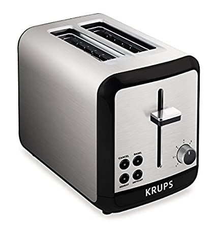 KRUPS 7211002389 KH3110 SAVOY Brushed Stainless Steel Toaster with Bagel Function and Wide Slots 2  sc 1 st  Amazon.com & Amazon.com: KRUPS 7211002389 KH3110 SAVOY Brushed Stainless Steel ...