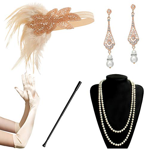 The 10 best flapper accessories black and pink