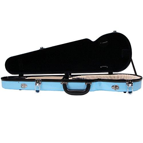 Fiberglass Violin Case Full Size (Sky Blue) by STRING HOUSE (Image #7)