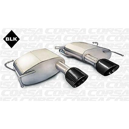 Amazon.com: Corsa Performance Corsa 11-13 Cadillac Cts Coupe V 6.2L V8 Polished Sport Axle-Back Exhaust (14942): Automotive