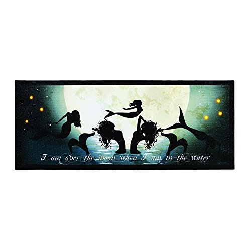22''L Lighted Dance of the Mermaids Wall Mount Canvas