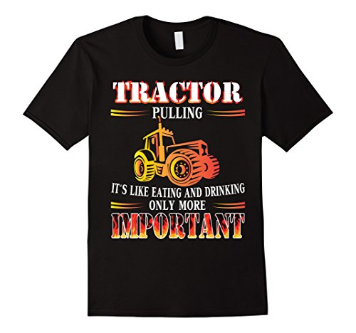 Mens Cool Tractors Pulling Eating and Drinking Shirts 3XL Black