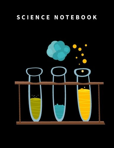 Science Notebook: 110 Blank and Lined pages and White Paper