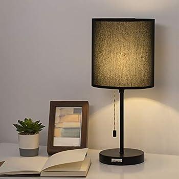 Haitral Bedside Table Lamp Minimalist Modern Nightstand