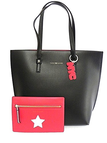 BORSA TOMMY HILFIGER TH EFFORTLESS NS TOTE PRINT AW0AW05264 902