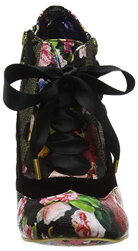 Nero Nero Nero Irregular Stivaletti Stivaletti Stivaletti Blair S Elfglow Floral Donna Choice Black Metallic WXZqZxCr