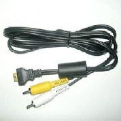 Casio AV Cable for Casio EX Z500, Casio EX Z600, Casio EX Z600BK Z600SR Z700 Z700GY Z850 Z700SR
