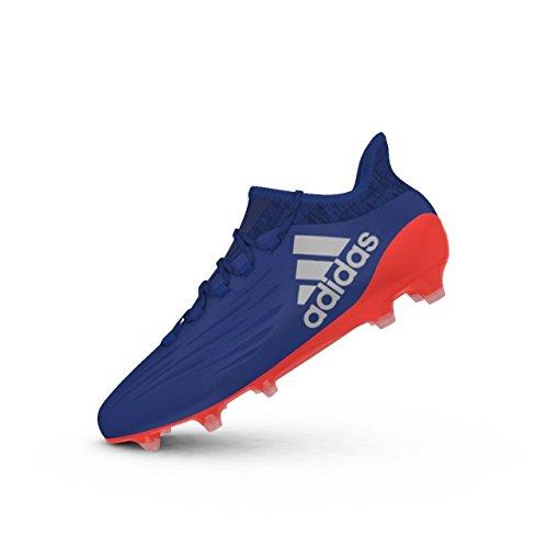 Solred X adidas de 1 FG Hombre Azul Croyal 16 para fútbol Silvmt Botas 474qa
