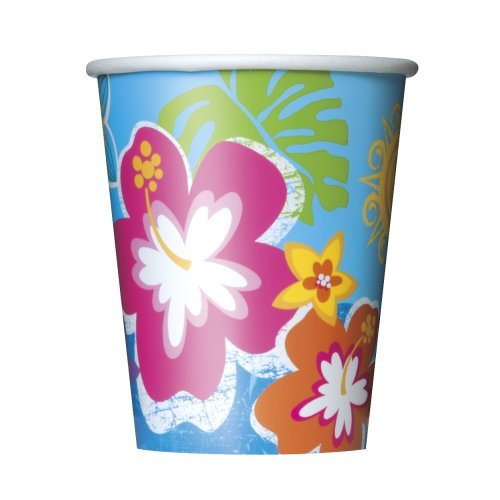 9oz Hula Girl Luau Party Cups, (Luau Party Ideas Food)