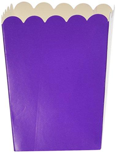Mini Popcorn Boxes - Purple - Teacher Resources & Birthday Supplies (2 dozen per unit)]()