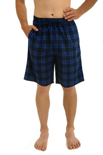 Alexander Del Rossa Men's Cotton Sleep Shorts