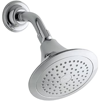 KOHLER K 10282 AK CP Forte Single Function Katalyst Showerhead, Polished