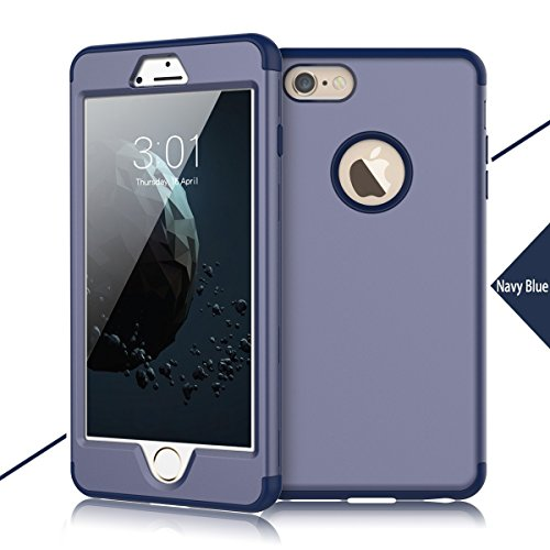 Soft Commuter Case for Apple iPhone 6 Plus (Navy Blue) - 1