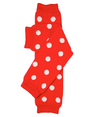 juDanzy White Polka toddler warmers product image