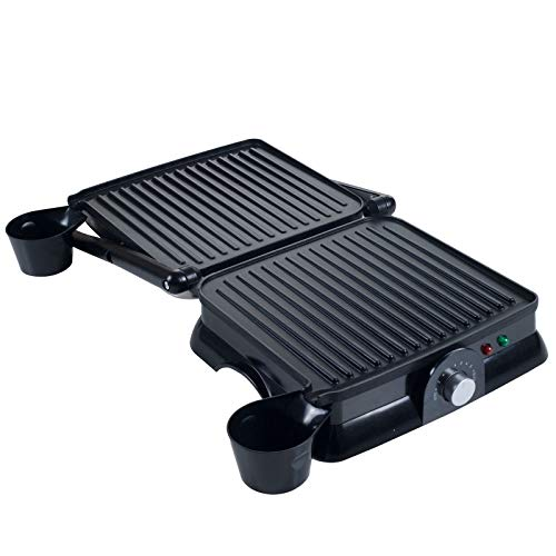 Adumly Chef Buddy Large Non-Stick Grill and Panini Press 9 x