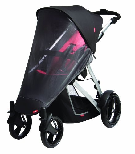Phil&Teds Uv Mesh Cover For Vibe, Vibe 2 Or Verve Single Stroller by phil&teds