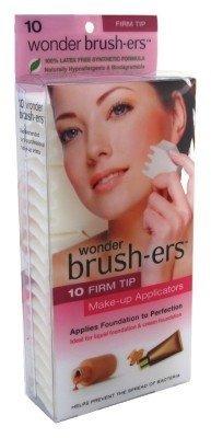Wonder Brush-Ers Make-Up Applicators 10'S by Wonder