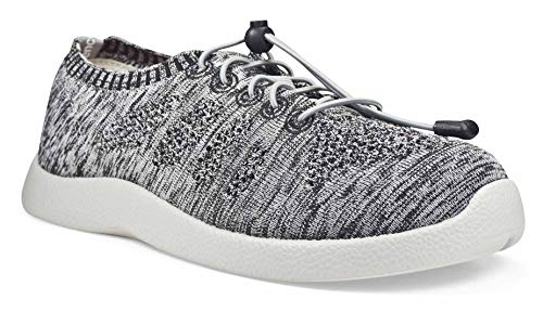 SoftScience The Tradewind Men's Lace-Up Athleisure Shoes - Light Gray, Size 11