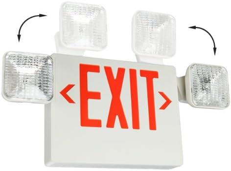 Amazon.com: LED Señal de salida y luz de emergencia – Letras ...