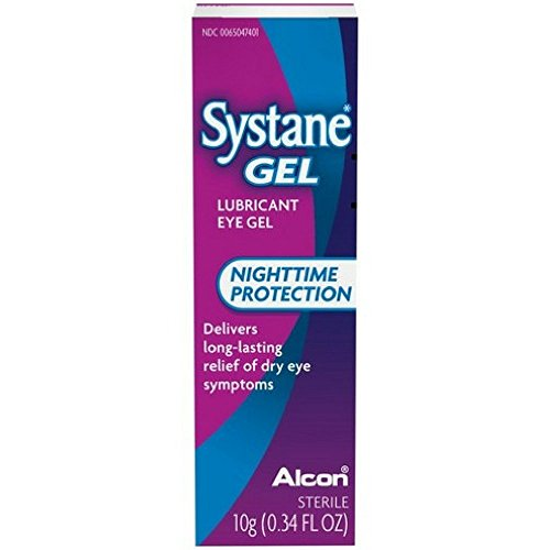 (Systane Gel Nighttime Protection Lubricant Eye Gel 10 g (2 pack)     )