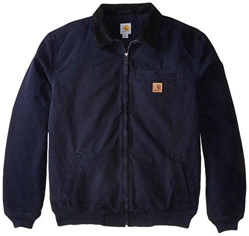 Carhartt Men's Big & Tall Bankston Jacket,Midnight,Large Tall