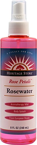 Heritage Products Rose Petals Rosewater - 8 Fl Oz (Heritage Store Rose Petals Rosewater)