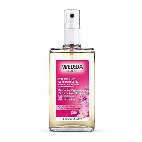Weleda Deodorant Spray, Wild Rose, 3.4 Oz, 3.4 Ounces