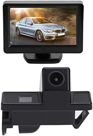 Brauto Reversing Camera Car Rear View With Night Vision Reversing System 4 3 Inch Lcd Car Monitor Car Camera For Parking Aid Reversing Aid Night Vision Parking Aid Auto