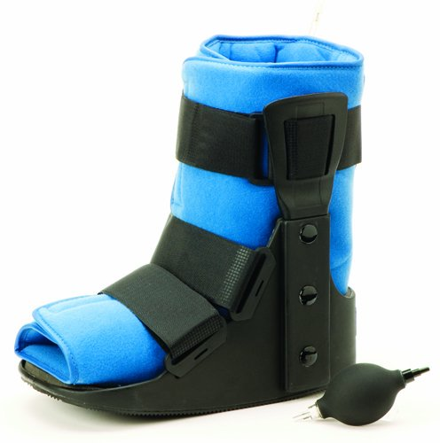 Air Traveler Walker Low Boot Lo-Profile w/Bladder Large by Marble Medical