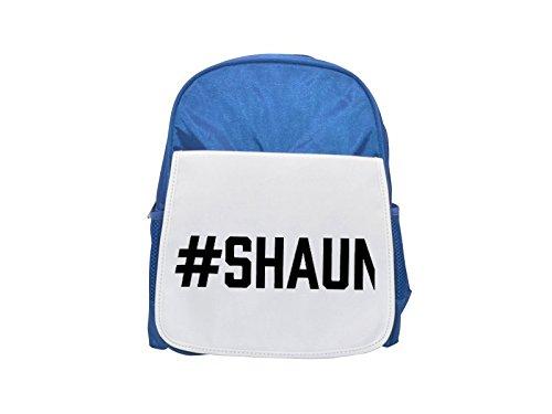 #SHAUN printed kid's blue backpack, Cute backpacks, cute small backpacks, cute black backpack, cool black backpack, fashion backpacks, large fashion backpacks, black fashion backpack