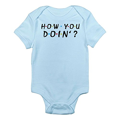 CafePress - 'How You Doin'?' Infant Bodysuit - Cute Infant Bodysuit Baby Romper