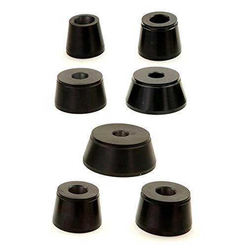 Accuturn Coats Wheel Balancer 7 Piece Low Profile Taper Cone Set - 28mm Shaft