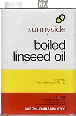 Sunnyside 872G1 Boiled Linseed Oil, 1-Gallon - Quantity 6
