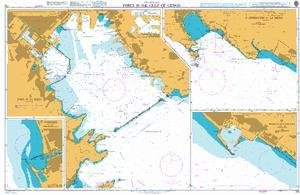 BA Chart 118: Italy – West Coast, Ports in the Gulf of Genoa by UKHO
