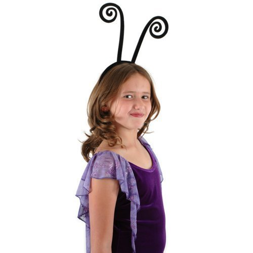 Adult Fly Costumes (Spiral, Black Antenna Headband by elope)