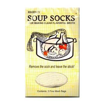 Regency Soup Sock *Triple Pack*- total 9 Socks