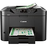 Canon MAXIFY MB2720 Wireless Monochrome Inkjet All-in-One Printer with Duplex (Black)