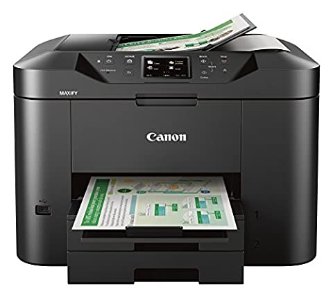 Canon Office and Business MB2720 Wireless All-in-one Printer, Scanner, Copier and Fax with Mobile and Duplex (Scanner Copy Printer)