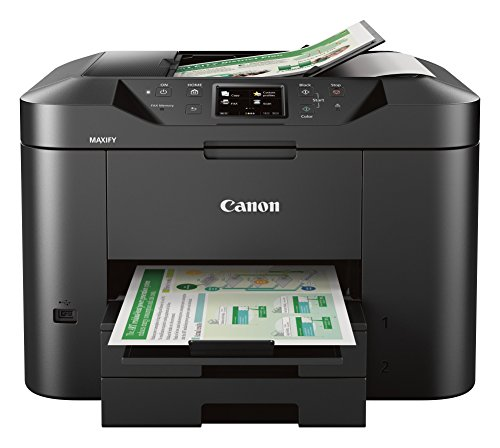Canon Office and Business MB2720 Wireless All-in-one Printer, Scanner, Copier and Fax with Mobile and Duplex Printing (Best Small Office Copy Machine)