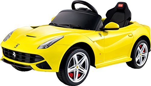 New 2015 Exclusive Sport Ferrari F12 12v Power Wheels Electric Ride On Car Toy With Remote Control Yellow Buy Online In Cayman Islands At Cayman Desertcart Com Productid 17927490