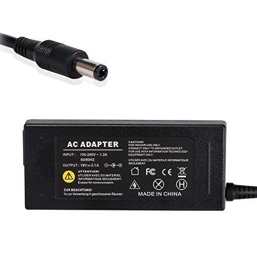SWEETBUY 19V 2.1A 40W Laptop AC Adapter/Power Supply/Charger+US Power Cord Replacement for Samsung N150,MPC TransPort,NC210,NC310 Series;Samsung AD-6019,ADP-40MH,CPA09-002A,SPA-830E,SPA-P30/US ect (Series P30 Replacement Laptop)