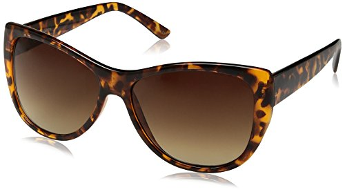 Big Buddha Women's Minnie Rectangular Sunglasses, Tortoise, 56 - Big Sunglasses Buddha