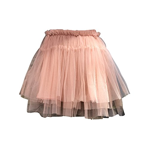 Tutu Grande (FANCYKIDS Kids Toddler Girls Birthday Party Everyday Pretty Tutu Dress Skirt (2 to 3 Years Old, Dusty Pink))