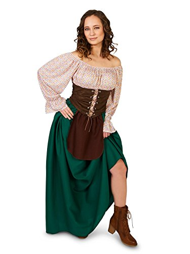 [Tavern Maiden Adult Costume Large] (Tavern Maiden Adult Costumes)