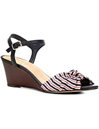 Sandália Anabela Shoestock Nó Feminina
