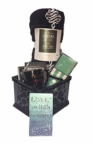 """""""Follow Your Dreams"""" Inspirational Gift Basket with Plush..."""