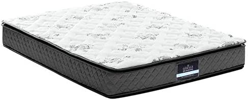 quality design 77460 fd99a King Single Mattress, Giselle Bedding Innerspring and Foam Mattress, 24cm  Thick Pillow Top Mattress