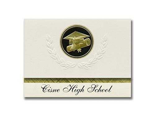e8fc30f778 Signature Announcements Cisne High School (Cisne, IL) Graduation  Announcements, Presidential style,